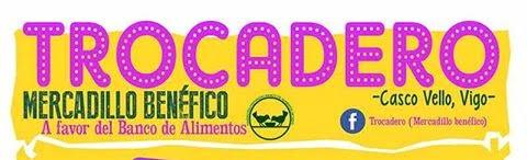 Trocadero, un rastrillo solidario donde el pago se hace en especies en favor del Banco de Alimentos, se celebra el día 5 de octubre en el Casco Viejo de Vigo