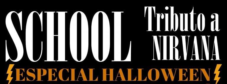 Vente a El Gato de Schrödinger para el concierto especial Halloween de SCHOOL Trib Nirvana a las 22:00 h.