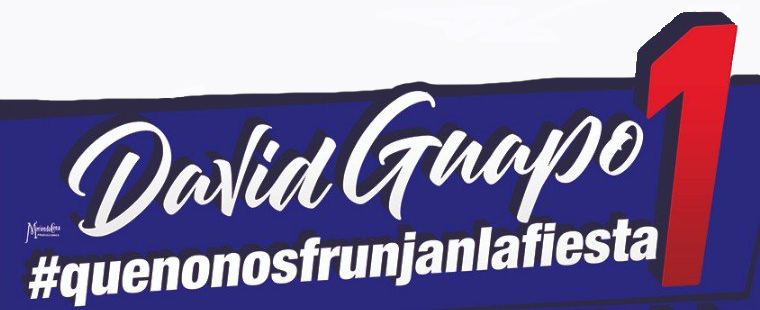 David Guapo vuelve a Vigo el 8 y 9 de noviembre con su show #Quenonosfrunjanlafiesta1