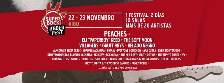 Super Bock Under Fest 2019 se celebra el 22, 23 y 24 de noviembre en varias salas de Vigo