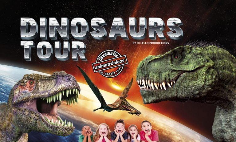 Dinosaurs Tour del 30 de noviembre al 8 de diciembre en el IFEVI de Vigo