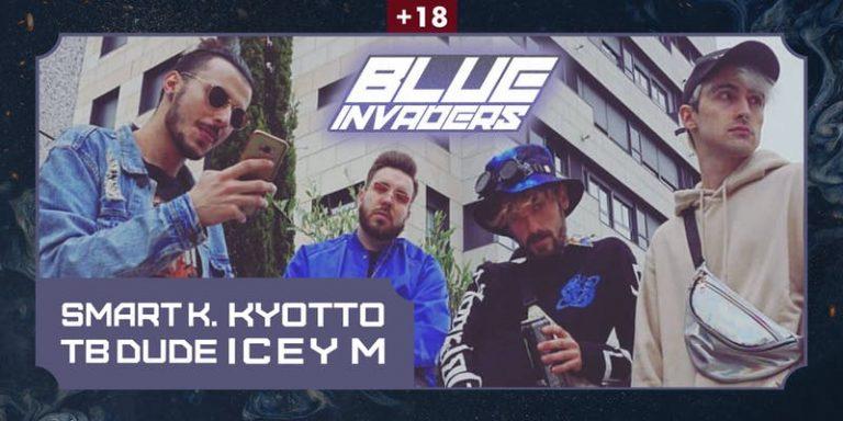 Concierto Blue Invaders el 14 de noviembre en la Sala MasterClub en Vigo