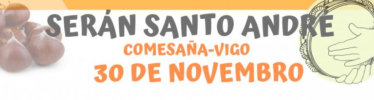 Serán Santo André-Comesaña se celebra el 30 de noviembre a las 12:30 en Comesaña,Vigo