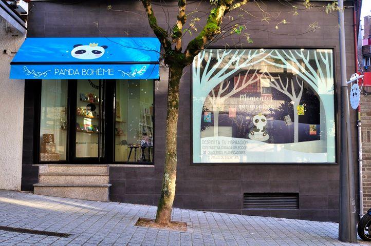 Panda Bohème, papelería de diseño en Vigo
