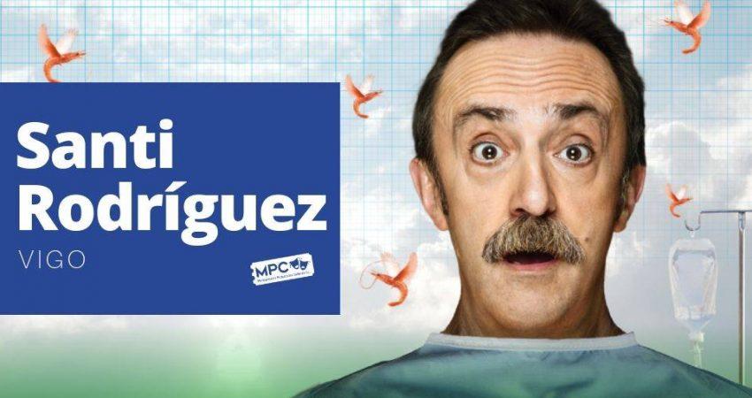Santi Rodríguez, de Infarto, en el Teatro Afundación Vigo el 3 de noviembre a las 18:00