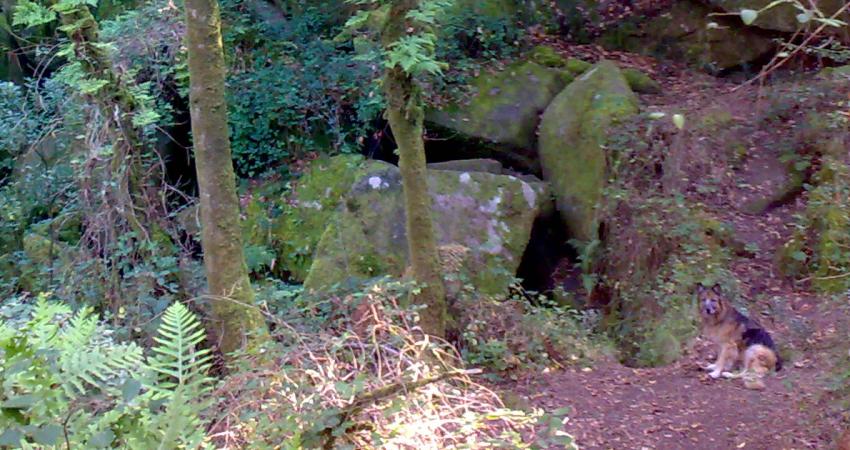 Cuevas del Folón en Coruxo de Vigo