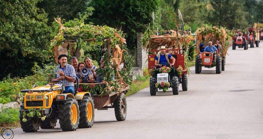 El 11 y 12 de octubre en Sela - Arbo se celebra la tradicional fiesta da Colleita