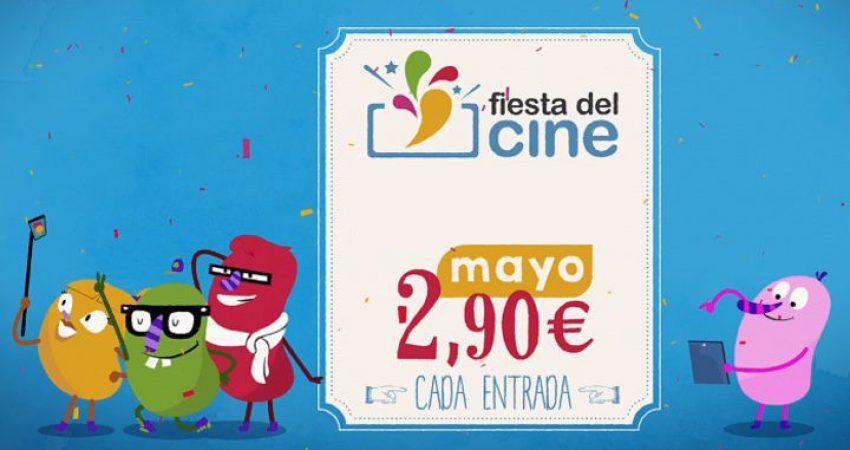 Fiesta del Cine 8,9 y 10 de Mayo 2018