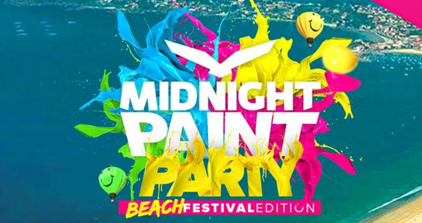 Midnight Paint Party Festival 2018 playa america