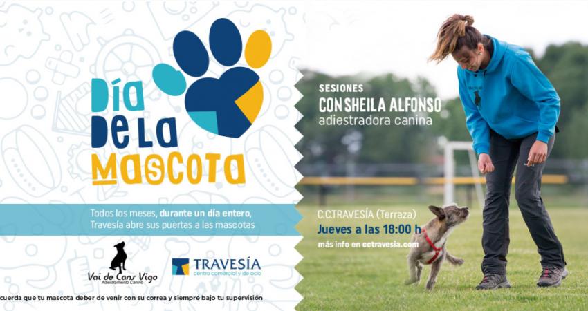 El I día de la Mascota se celebra el jueves 20 de junio a las 18:00 horas en la terraza del Centro Comercial Travesía de Vigo