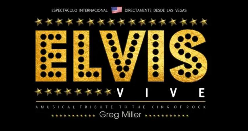 Elvis Presley es homenajeado con su espectáculo Elvis Vive en el Cine Teatro Salesianos en Vigo el 28 de abril