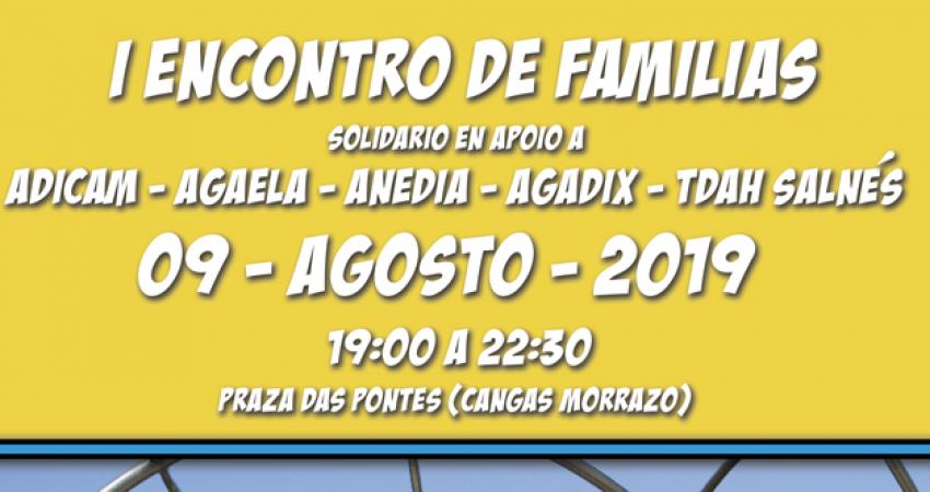 I Encontro de Familias Solidario a favor de Adicam, Agaela, Anedia, Agadix y TDAH Salnés.