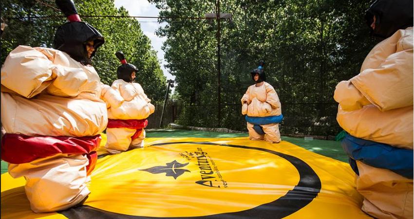 Ven al mejor parque recreativo de Galicia a revivir la serie Humor Amarillo en Vigo