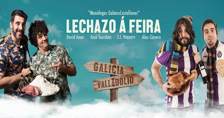 El show de humor, Lechazo á Feira tendrá lugar el día 12 de octubre en el Auditorio Mar de Vigo