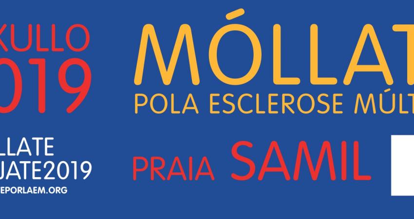 El próximo domingo 14 de julio la playa de Samil acogerá, de manera exclusiva en toda la comunidad gallega, esta campaña de sensibilización social